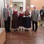 thumbs 10113 Geburtstagsfeier von Ehrenmitglied und Fahnenpatin Luise Niedermayr und Bezirksmajor Sepp Kaser