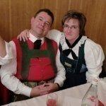thumbs 10132 Geburtstagsfeier von Ehrenmitglied und Fahnenpatin Luise Niedermayr und Bezirksmajor Sepp Kaser