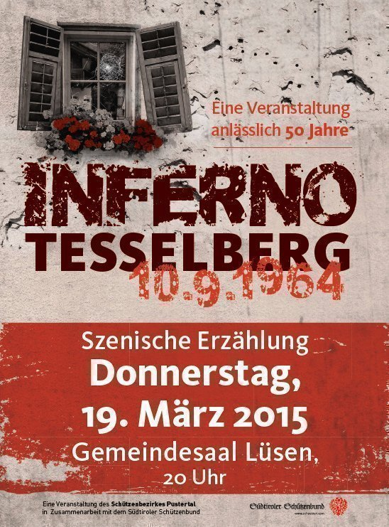 Inferno Tesselberg1 Inferno Tesselberg 10.09.1964   Szenische Erzählung